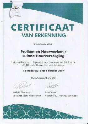 certificaat-anko